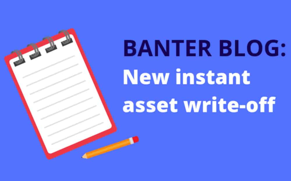 New instant asset write-off