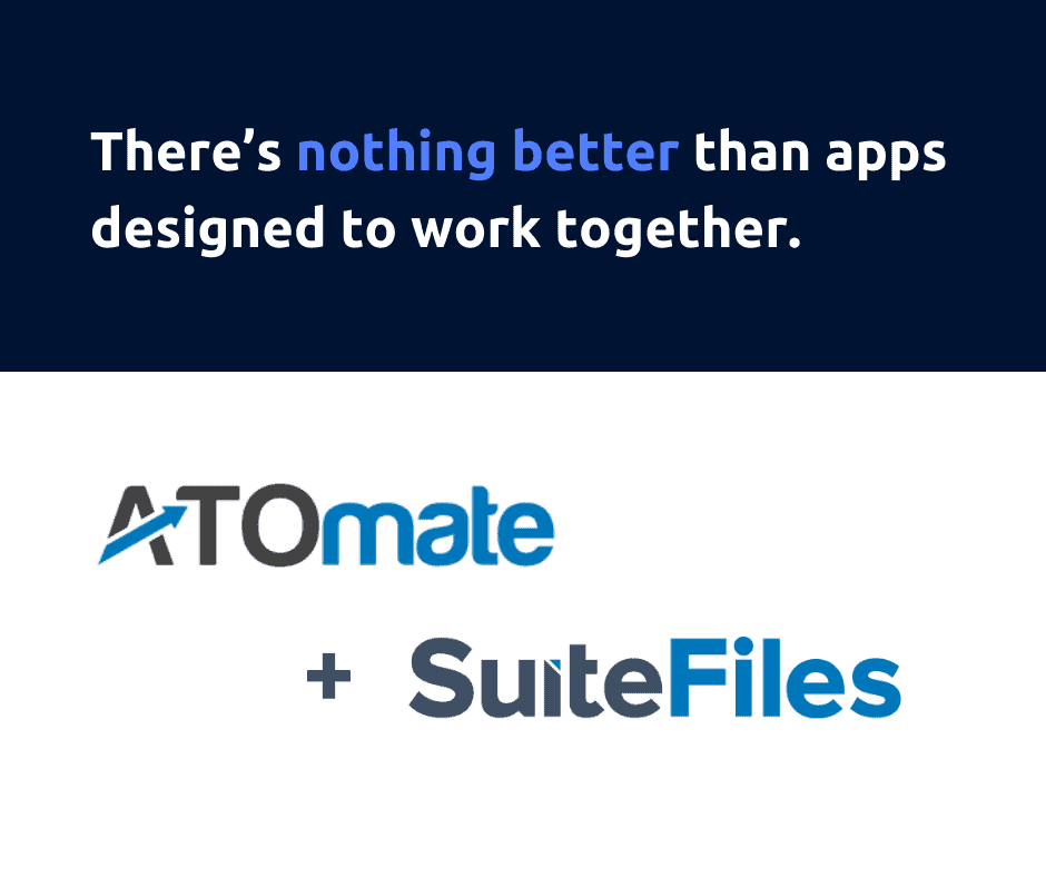 ATOmate & SuiteFiles launch their integration to automate the sorting, signing, and filing of all ATO correspondence.